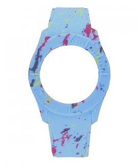 Watx and Co S Smart Splash Blue Bracelete COWA3601