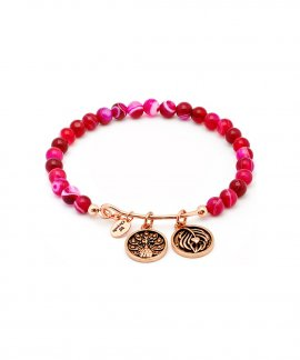 Chrysalis Inner Beauty Rose Agate Joia Pulseira Mulher CRBH0108RG