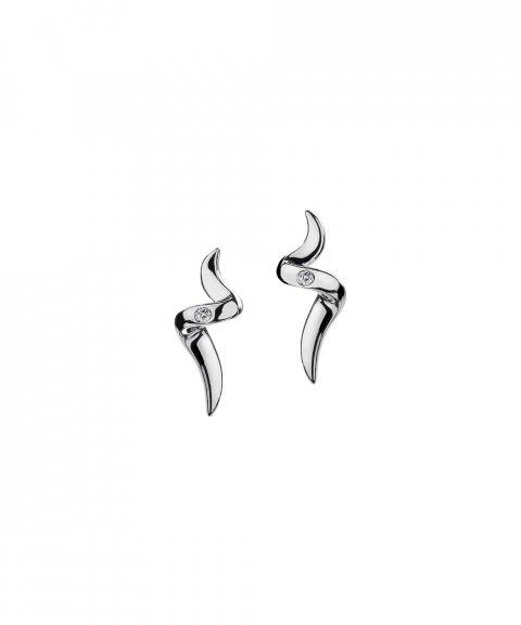 Hot Diamonds Spiral Joia Brincos Mulher DE221