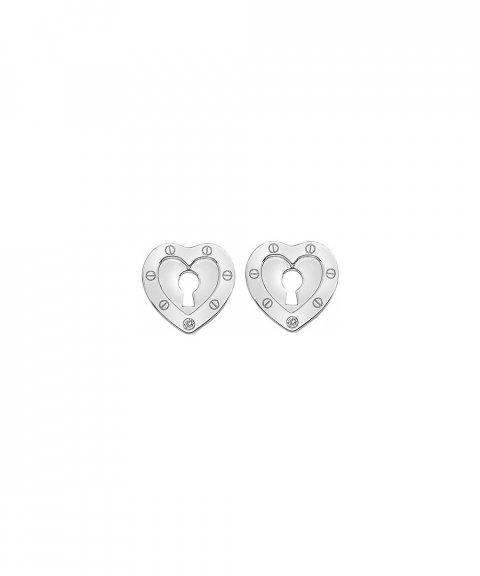 Hot Diamonds Lock in Love Joia Brincos Mulher DE527