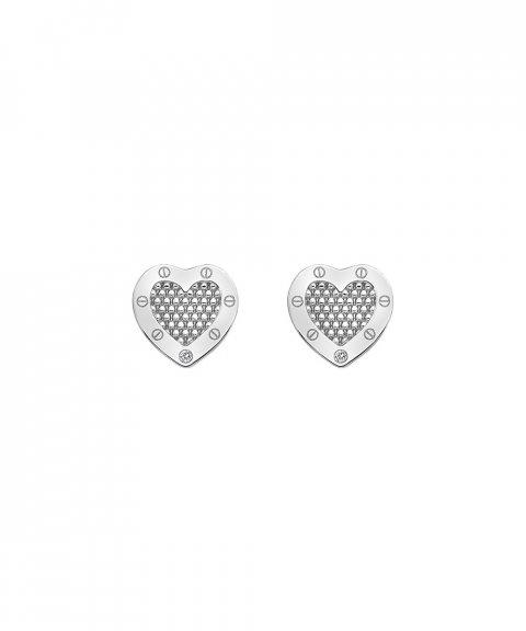 Hot Diamonds Lock in Love Joia Brincos Mulher DE528