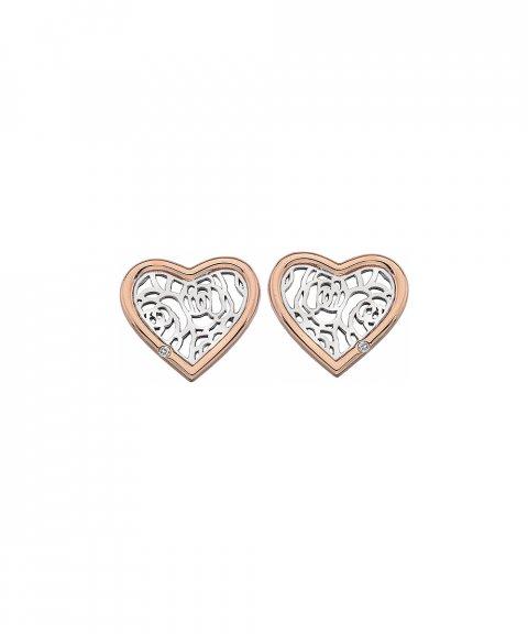 Hot Diamonds Faith Heart Joia Brincos Mulher DE530