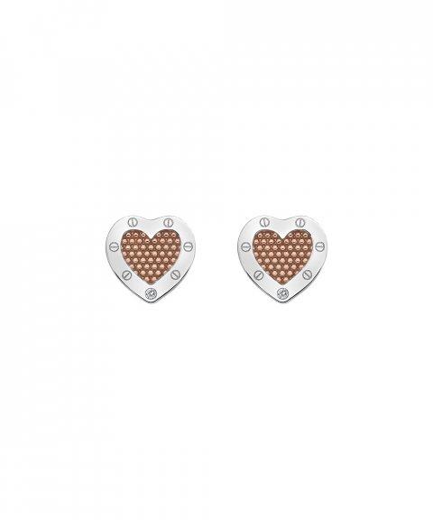 Hot Diamonds Lock in Love Joia Brincos Mulher DE538