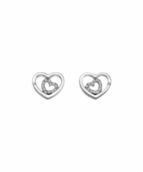 Hot Diamonds Adorable Joia Brincos Mulher DE548