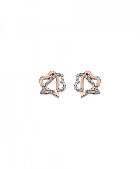 Hot Diamonds Adorable Joia Brincos Mulher DE551