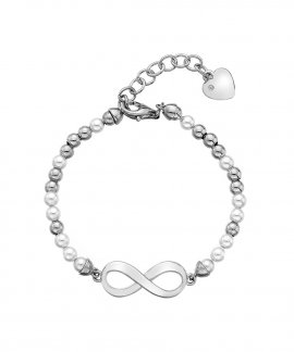 Hot Diamonds Infinity Joia Pulseira Mulher DL529