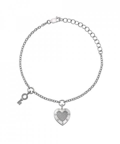 Hot Diamonds Lock in Love Joia Pulseira Mulher DL561