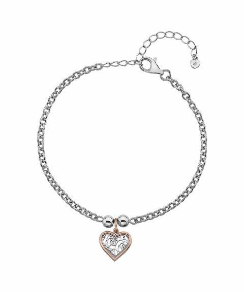 Hot Diamonds Faith Heart Joia Pulseira Mulher DL563