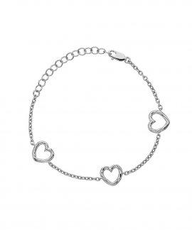 Hot Diamonds Breeze Captivating Heart Joia Pulseira Mulher DL570