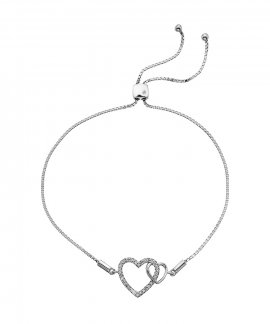 Hot Diamonds Togetherness Joia Pulseira Mulher DL589