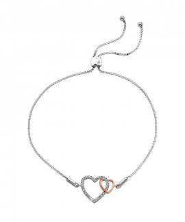 Hot Diamonds Togetherness Joia Pulseira Mulher DL590