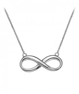 Hot Diamonds Infinity Joia Colar Mulher DN096
