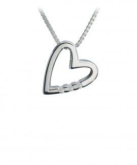 Hot Diamonds Just Add Love Joia Colar Mulher DP007