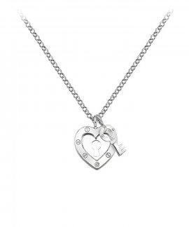 Hot Diamonds Lock in Love Joia Colar Mulher DP653