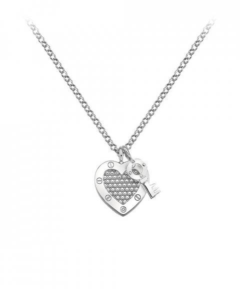 Hot Diamonds Lock in Love Joia Colar Mulher DP654