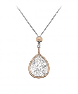 Hot Diamonds Faith Teardrop Joia Colar Mulher DP656
