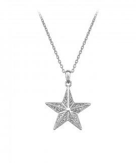 Hot Diamonds Christmas Star Joia Colar Mulher DP664