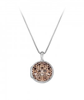 Hot Diamonds Filigree Locket 45cm Joia Colar Mulher DP668