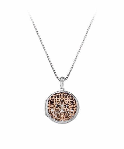 Hot Diamonds Filigree Locket 45cm Joia Colar Mulher DP668