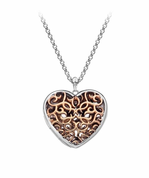 Hot Diamonds Filigree Locket 60cm Joia Colar Mulher DP670