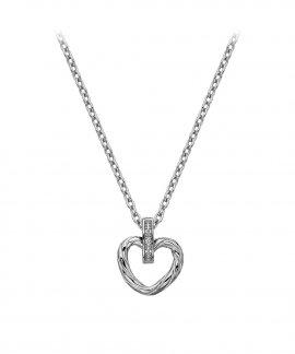 Hot Diamonds Breeze Captivating Heart Joia Colar Mulher DP689