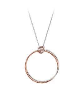 Hot Diamonds Unity Statement Circle Joia Colar Mulher DP740