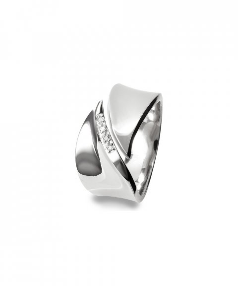 Hot Diamonds Pave Leaf Joia Anel Mulher DR076