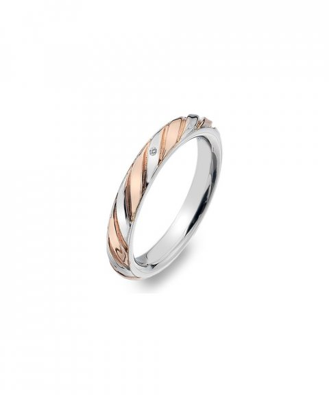 Hot Diamonds Breeze Joia Anel Mulher DR177