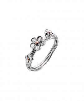 Hot Diamonds Forget Me Not Joia Anel Mulher DR214