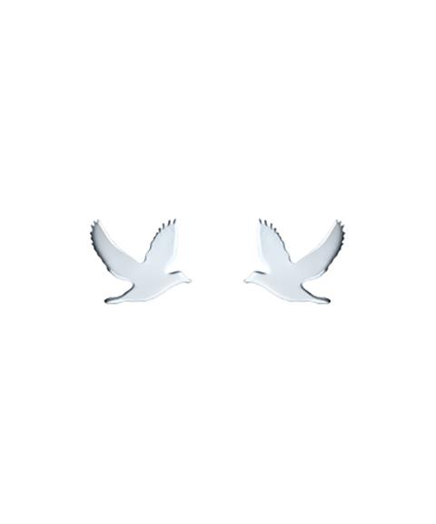 Omnia Wild Pássaro Joia Brincos Mulher E1161-P