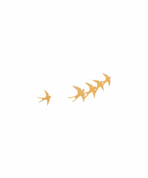 Omnia Wild Swallow Joia Brincos Mulher E1177X-D