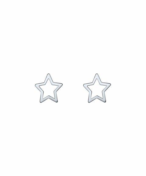 Omnia Outline Star Joia Brincos Mulher E1516T-P