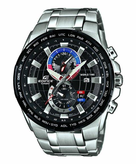 0ad859e6059 Casio Edifice Classic World Map Chronograph Relógio Homem EFR-550D-1AVUEF