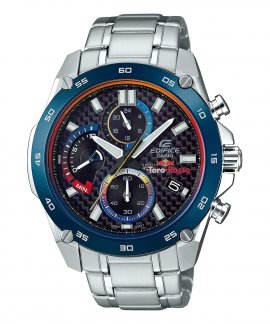 Casio Edifice Classic Premium Toro Rosso Relógio Homem Chronograph EFR-557TR-1AER