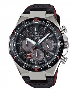 Casio Edifice Premium Solar Chrono Relógio Homem Carbon Dial EFS-S520CBL-1AUEF