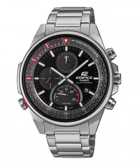 Casio Edifice Edifice Premium Solar Slim Relógio Homem Cronógrafo EFS-S590D-1AVUEF