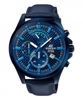 Casio Edifice Retrograde Chronograph Relógio Homem EFV-530BL-2AVUEF