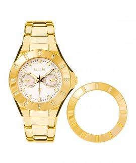 Eletta Vilamoura Relógio Mulher Gold ELA024MBMG