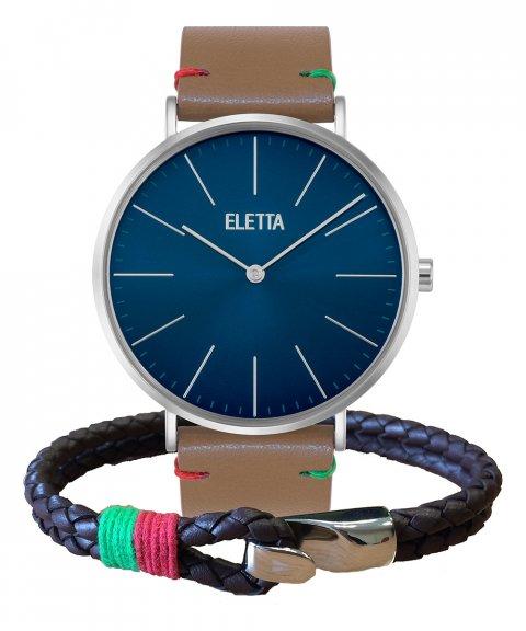 Eletta Drive Gift Set Relógio Pulseira Homem ELD010GACSX