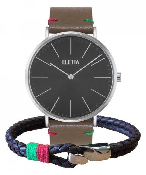 Eletta Drive Gift Set Relógio Pulseira Homem ELD010GPCSX