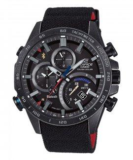 Casio Edifice Bluetooth Chronograph Relógio Homem Toro Rosso Limited Edition EQB-501TRC-1AER