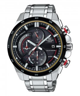 Casio Edifice Racing Solar Chrono Relógio Homem EQS-600DB-1A4UEF
