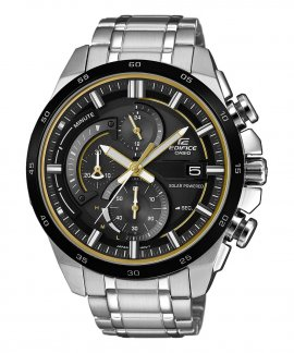 Casio Edifice Racing Solar Chrono Relógio Homem EQS-600DB-1A9UEF