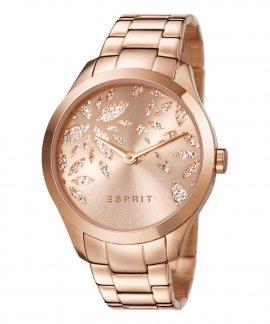 Esprit Lily Dazzle Rose Gold Relógio Mulher ES107282002