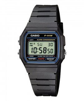 Casio Collection Relógio F-91W-1YER