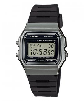 Casio Collection Retro Relógio F-91WM-1BEF