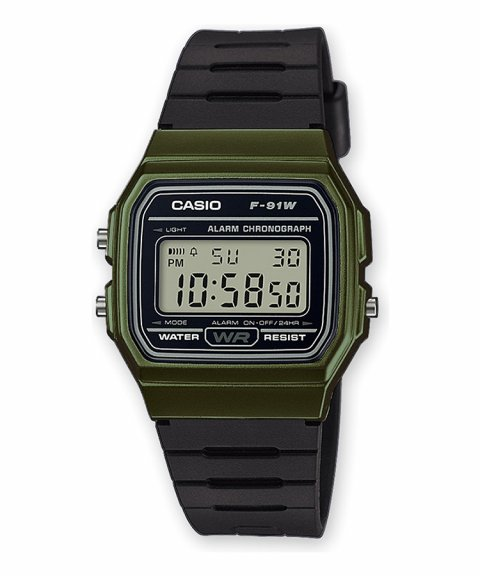 Casio Collection Retro Relógio F-91WM-3AEF