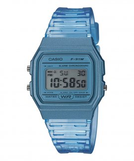 Casio Collection Retro Relógio F-91WS-2EF