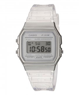 Casio Collection Retro Relógio F-91WS-7EF