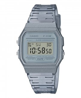 Casio Collection Retro Relógio F-91WS-8EF